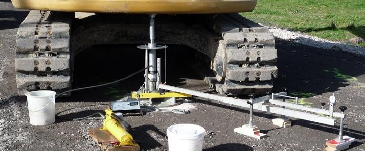 Geotechnische Messungen und Erdbaukontrollprüfungen
